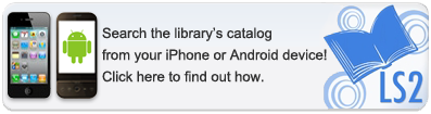 PDF instructions on how to connect to the library's catalog through your mobile device